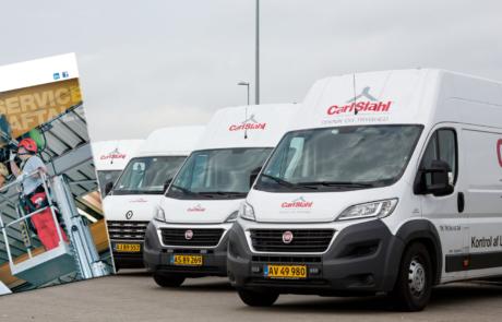 servicebiler og serviceaftale