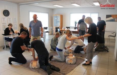 CS førstehjælpskursus