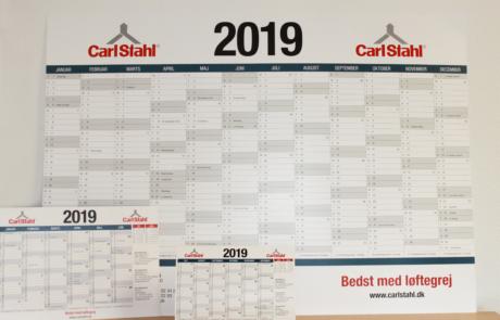 kalendere for 2019