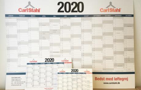 2020 kalender nyhed