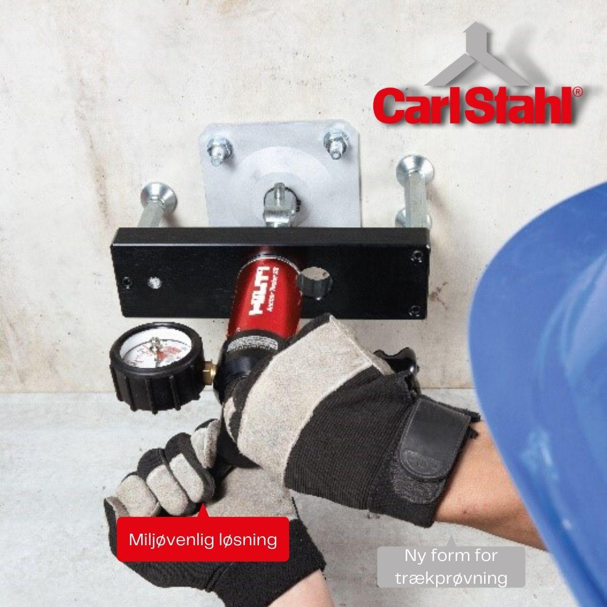 Trækprøvning Carl Stahl